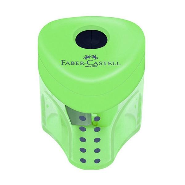 Apontador com Depósito Mini Grip 2001 Colors - Faber-Castell