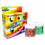 Tinta Confetti Art Teen  6 Cores - Acrilex
