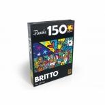 Puzzle Romero Britto - Mias Garden - 150 Peças - Grow