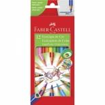Ecolápis de Cor Super Ponta 12 cores - Faber-Castell
