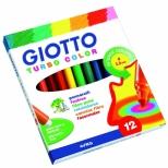 Hidrográfica Turbo Color 12 Cores - Giotto
