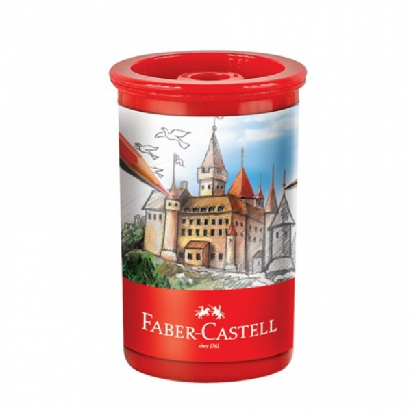 Apontador com Depósito Tubo - Faber-Castell