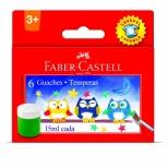 Guache Lavável 6 cores - Faber-Castell