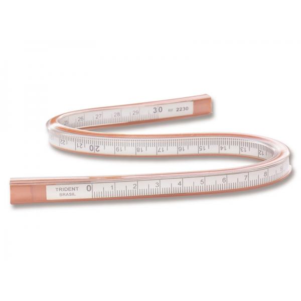 Régua Flexível 50 cm - Trident