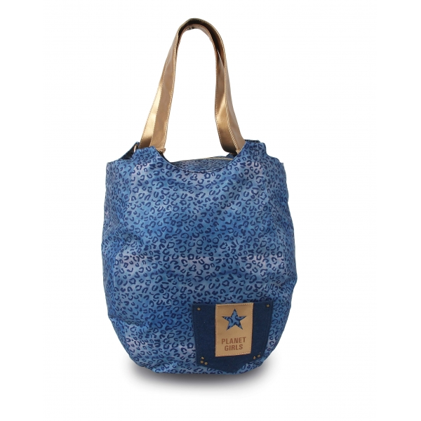 Bolsa Dourada Planet Girl : Oferta bolsa tote luxo planet girls dermiwil