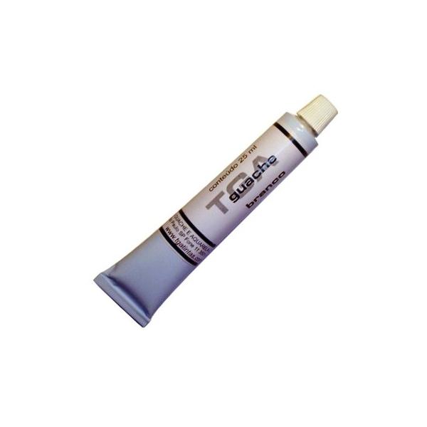 Guache TGA  Branco 25ml - TGA
