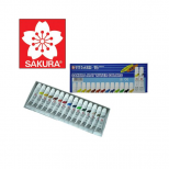 Aquarela Mat Water Colors 18 Cores - Sakura