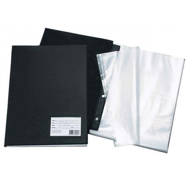 Pasta Catálogo PVC Preto - 50 sacos - DAC