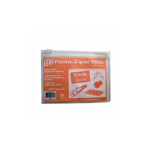 Pasta Ziper Slide com Porta Cartão - Y.E.S.