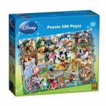 Puzzle Disney - 500 Peças - Grow