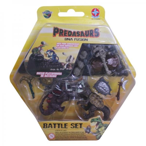 Predasaurs Battle Set - Toro e Deyan - Estrela