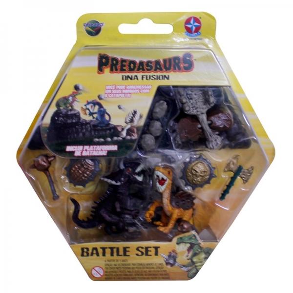 Predasaurs Battle Set - Kabell e Naum - Estrela