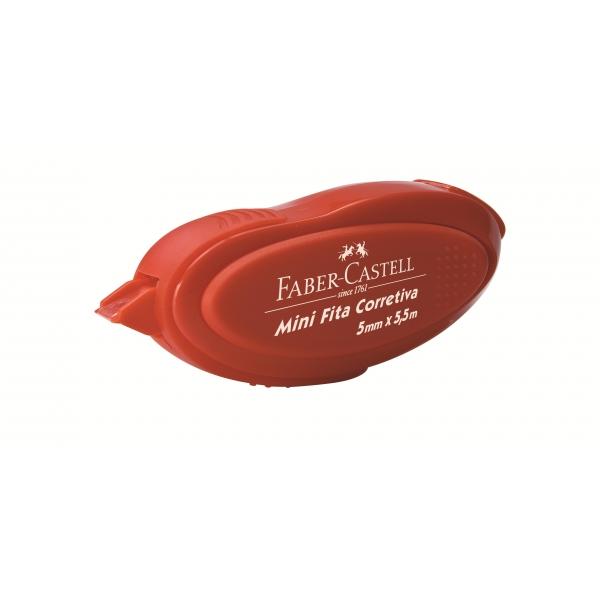 Mini Fita Corretiva 5mm X 5,5m - Faber-Castell