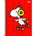 Caderno Universitário Capa Dura Snoopy - 1 Matéria - 96 Folhas - Tilibra