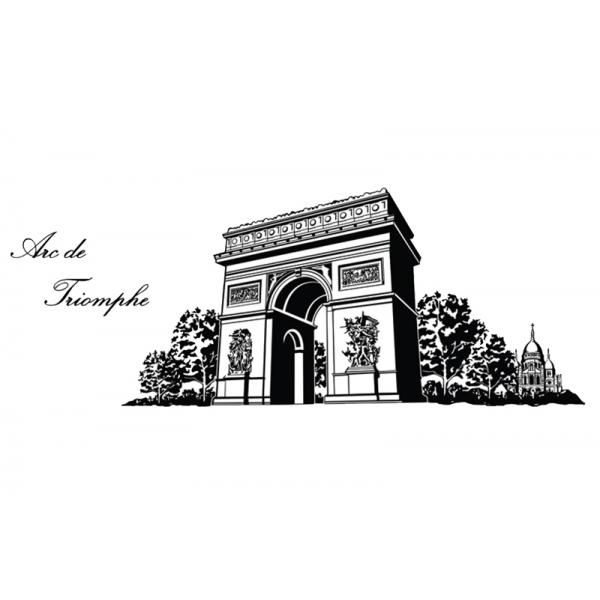 Adesivo DelloDecor  Arco do Triunfo - Dello