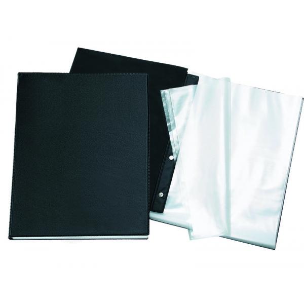 Pasta Catálogo PVC Preto - 10 sacos - DAC