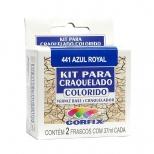 Kit para Craquelado Colorido 37ml - Corfix