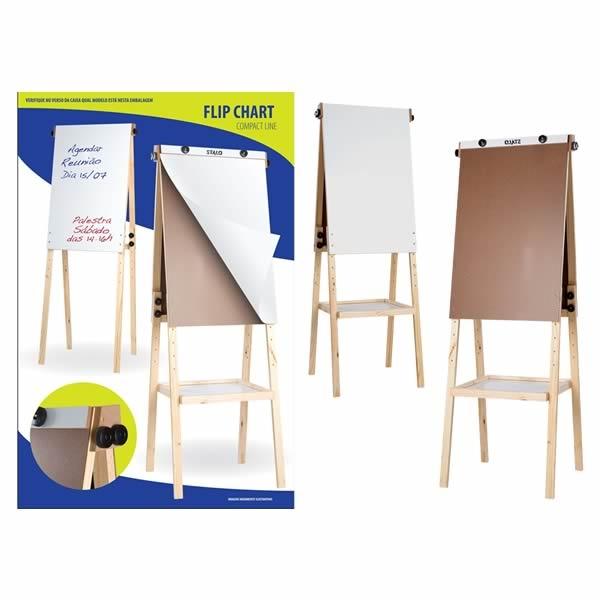 Flip Chart Compact Line 2x1 - Stalo