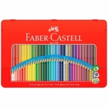 Ecolápis De Cor Grip 36 Cores Estojo Lata - Faber-Castell