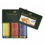Lápis de Cor Polychromos  Estojo Metálico com 60 cores - Faber-Castell