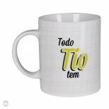 Caneca Toda Fam�lia Tem - Tio - Uatt?