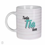 Caneca Toda Fam�lia Tem - Tia - Uatt?