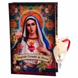 Caixa Book Sagrado Coração de Maria - Trevisan Concept