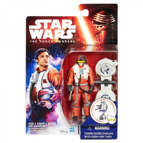 Boneco Poe Dameron  Star Wars The Force Awakens  9cm - Hasbro
