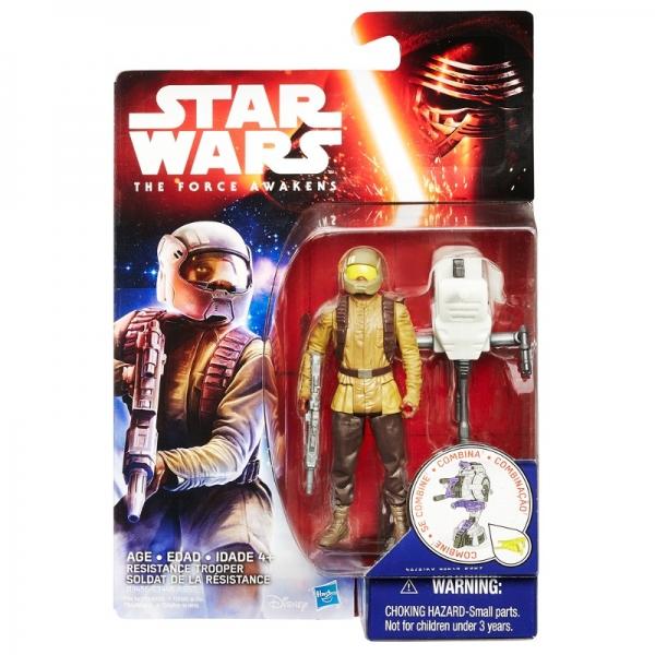 Boneco Resistance Trooper  Star Wars The Force Awakens  9cm - Hasbro