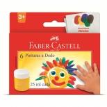 Pintura A Dedo 6 Cores - Faber-Castell