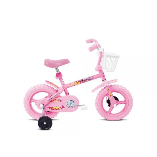 Bike Fofys - Aro 12 - Rosa - Verden Bikes