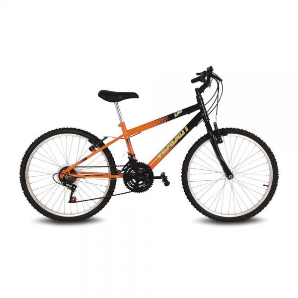 Bike Live - Aro 24 - Preto / Laranja - Verden Bikes