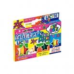 Massinha com Glitter  12 cores - Licyn