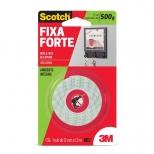 Fita Fixa Forte de Espuma Uso Interno 12mm x 1,5m - 3M