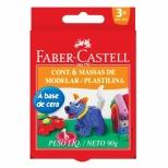 Massa de Modelar Cera 6 Cores - Faber-Castell