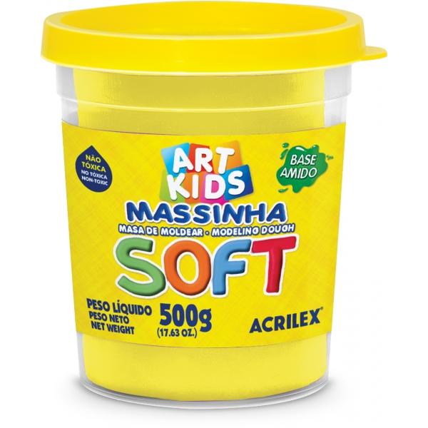 Massinha de Modelar Soft  500g - Acrilex