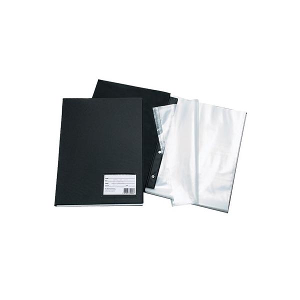 Pasta Catálogo PVC Preto - 20 sacos - DAC