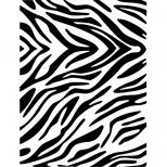 Stencil 21cm x 15cm  Zebra - Acrilex