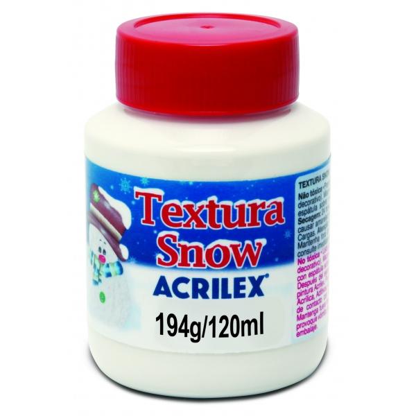 Textura Snow Neve Glitter  120ml - Acrilex
