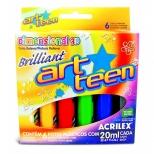 Dimensional 3D Brilliant  6 cores - Acrilex