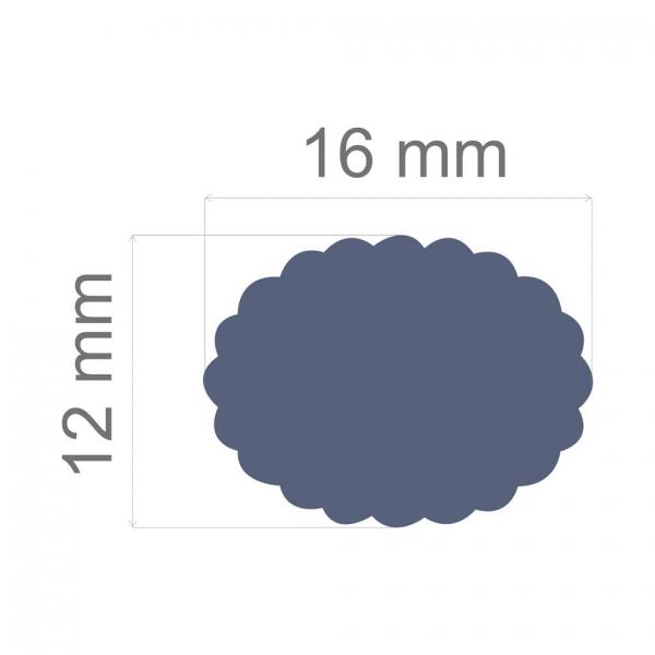 Furador Regular Escalope Oval - Toke e Crie