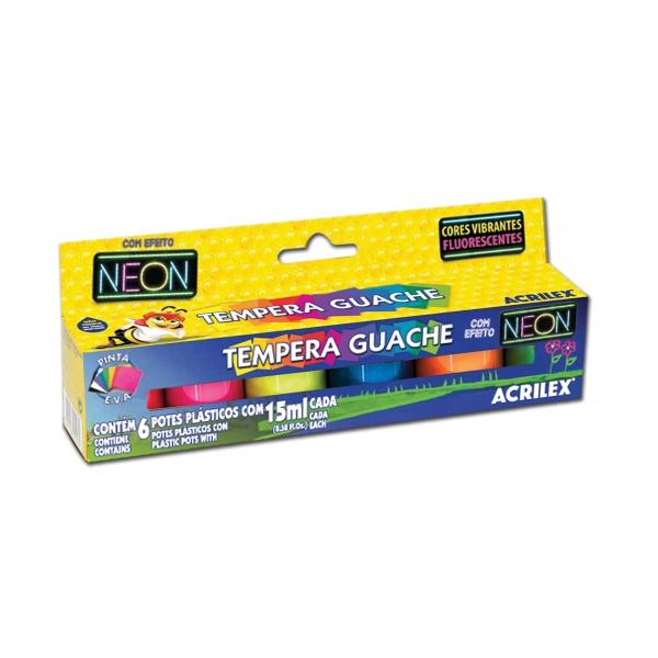 Tempera Guache Neon - Acrilex