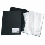 Pasta Catálogo PVC Preto - 30 sacos - DAC