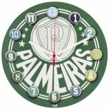 Relógio de Parede MDF 30x30 Palmeiras - Uatt?