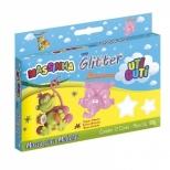 Massinha com Glitter Uti Guti 12 cores - Licyn