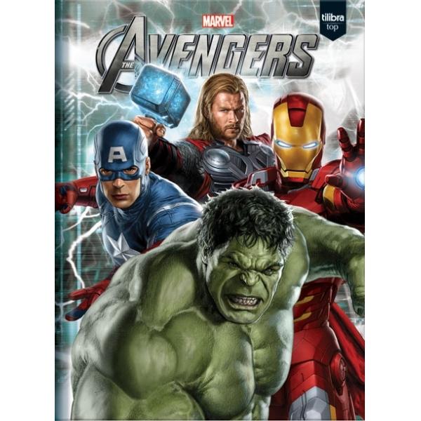 Caderno Universitário Avengers - Os Vingadores - 1 Matéria