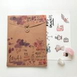 Envelope Vai e Vem Vertical Kraft - Dello