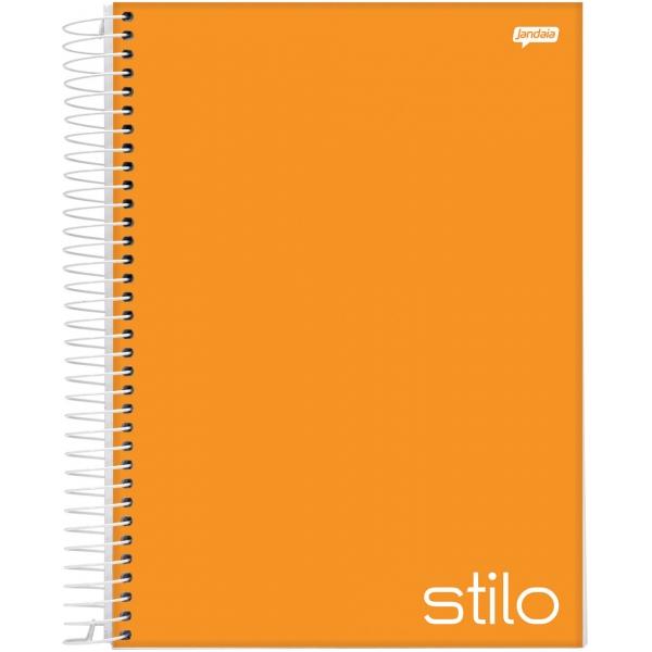 Caderno Universitário Capa Dura Stilo - 10 Matérias - 200 Folhas - Jandaia