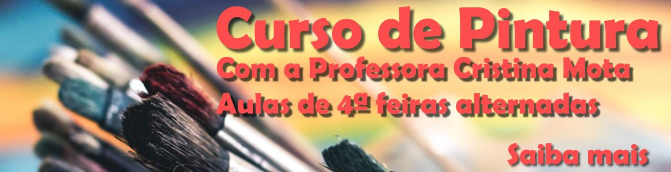 Banner Curso de Pintura 2019