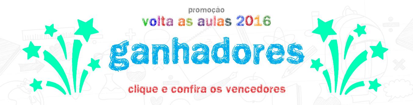 Banner Promoção Volta às Aulas 2016 - Confira os Vencedores